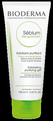 Sébium  ژل لایه بردار برای پوست  چرب- صورت، پاک کننده بدن - محصول
